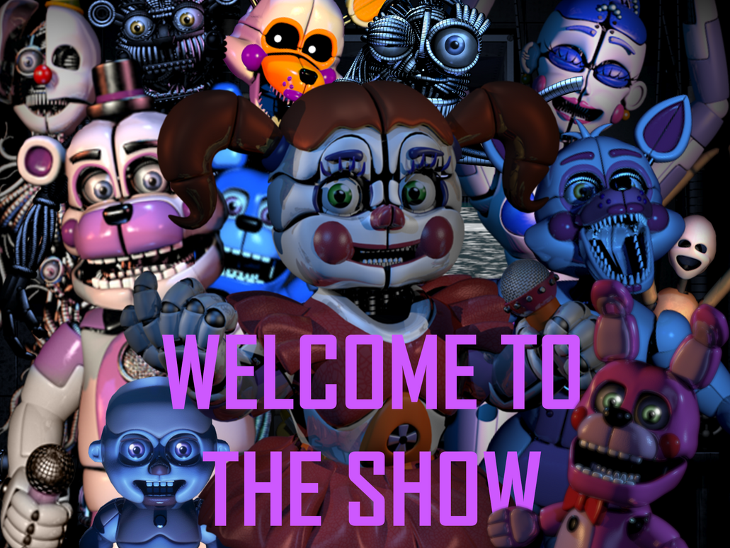 Fnaf Sister Location Poster Wallpaper By DrawingFreakUltra