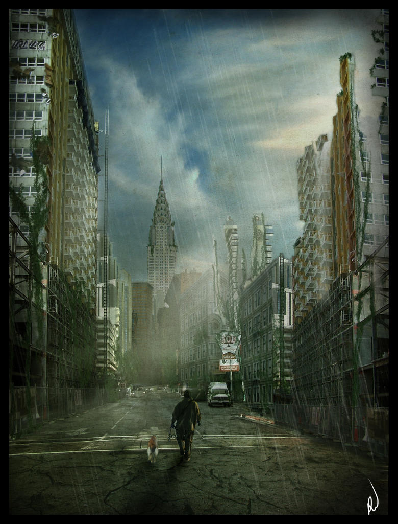 I am Legend by Everild-Wolfden  I Am Legend Background