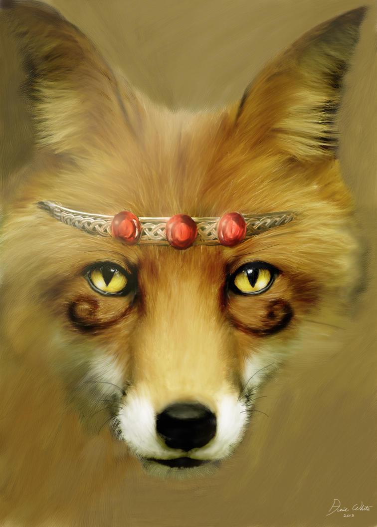 Fox by Everild-Wolfden