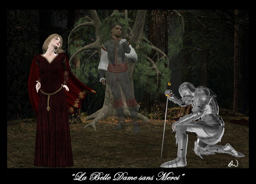 "belle dame sans merci essay La belle dame sans merci by john keats ""la belle dame sans merci"" is a poem written by john keats who was a romantic poet the first three stanzas of this poem."