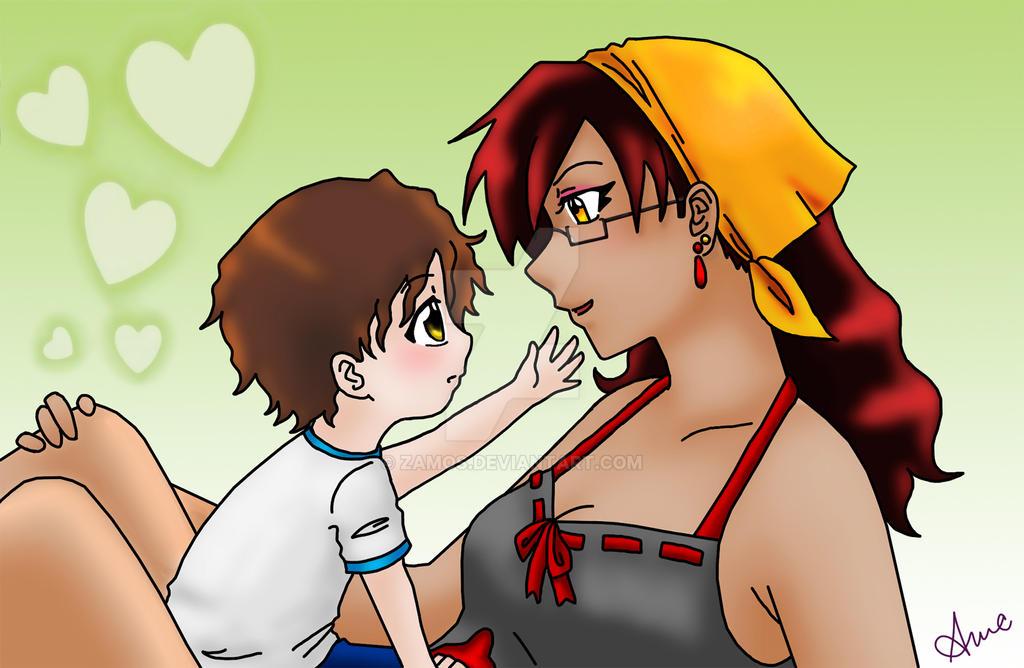 Amaya and Kagehiro 2 by Zamos