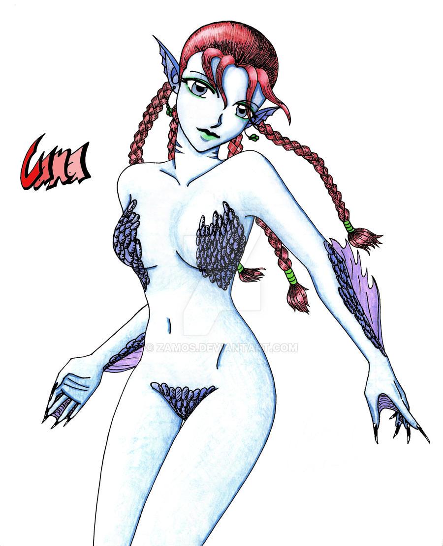 Mermaid Cana by Zamos