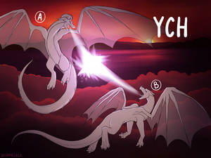 YCH: Sky-high Battle [Open] REDUCED PRICE
