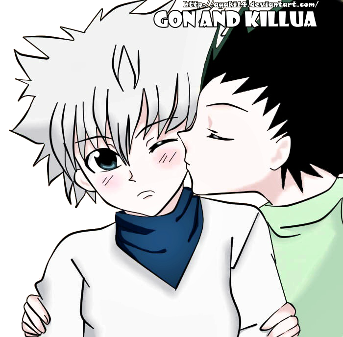 gon and killua relationship