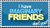 Stamp - Imaginary Friends by rachitick