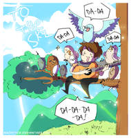 Owl City Series- To the Sky by rachitick