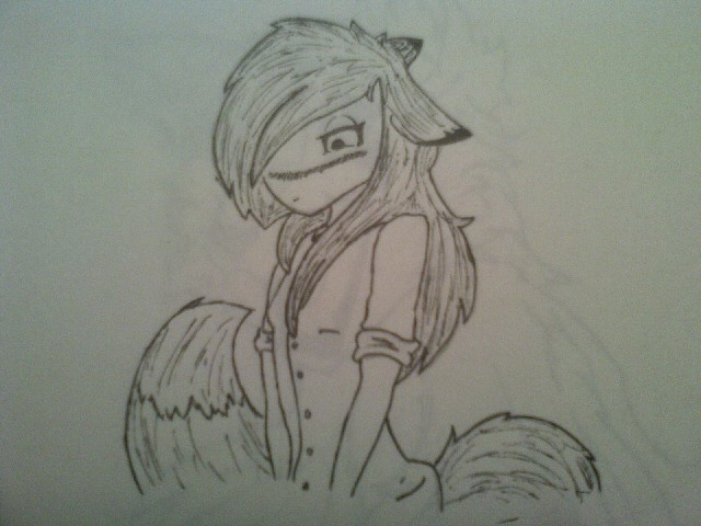 Cute Wolf Girl Drawings Pictures to Pin on Pinterest ...
