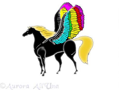 Aunis the Pegasus