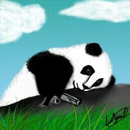 Chillin Baby Panda by xStormNightx