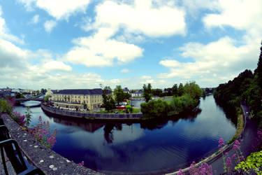Blue Canal by ramblepaw