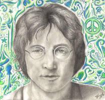 John Lennon x _Small File_ by TiffanyLarson