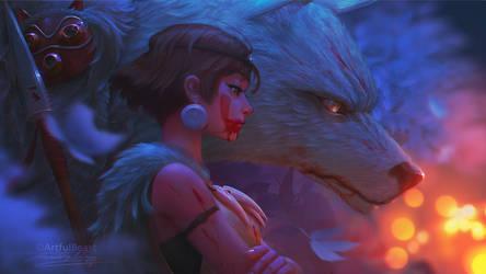 Mononoke by ArtfulBeast