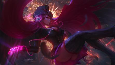 Dark Angel OC {Commission]