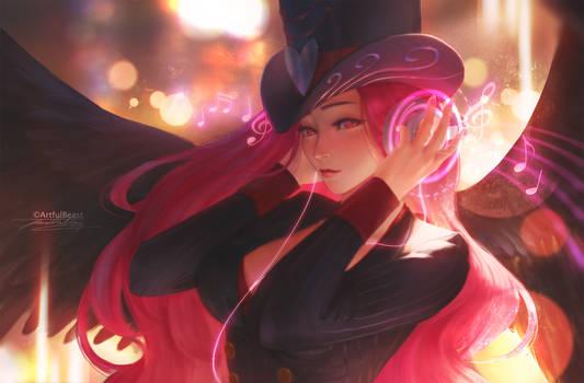 Luminous Dark Angel