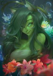 Noxxi Greenrose by ArtfulBeast