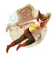 Hawkgirl by ync