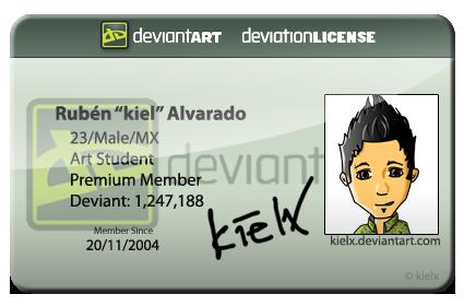 dA license
