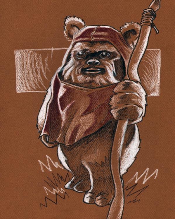 Ewok by evanbryce on deviantart - Ewok wallpaper ...