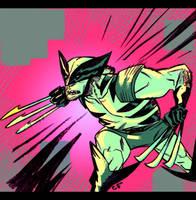 Wolverine Slash by EvanBryce