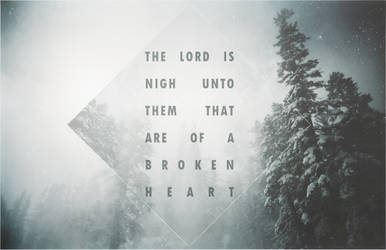 PSALM 34: 18 by aners56