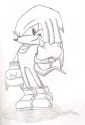 Knuckles by MadHatterEvo