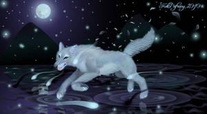 Water wolf spirit