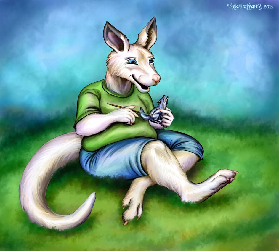Gift: WhiteRoo by KekPafrany