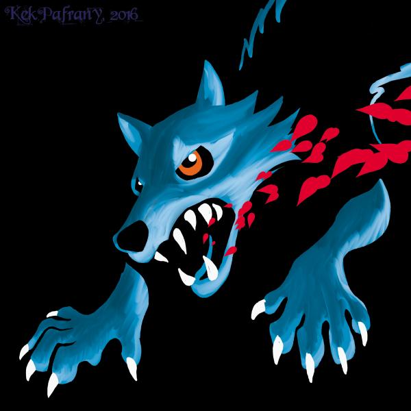 Ragewolf by KekPafrany