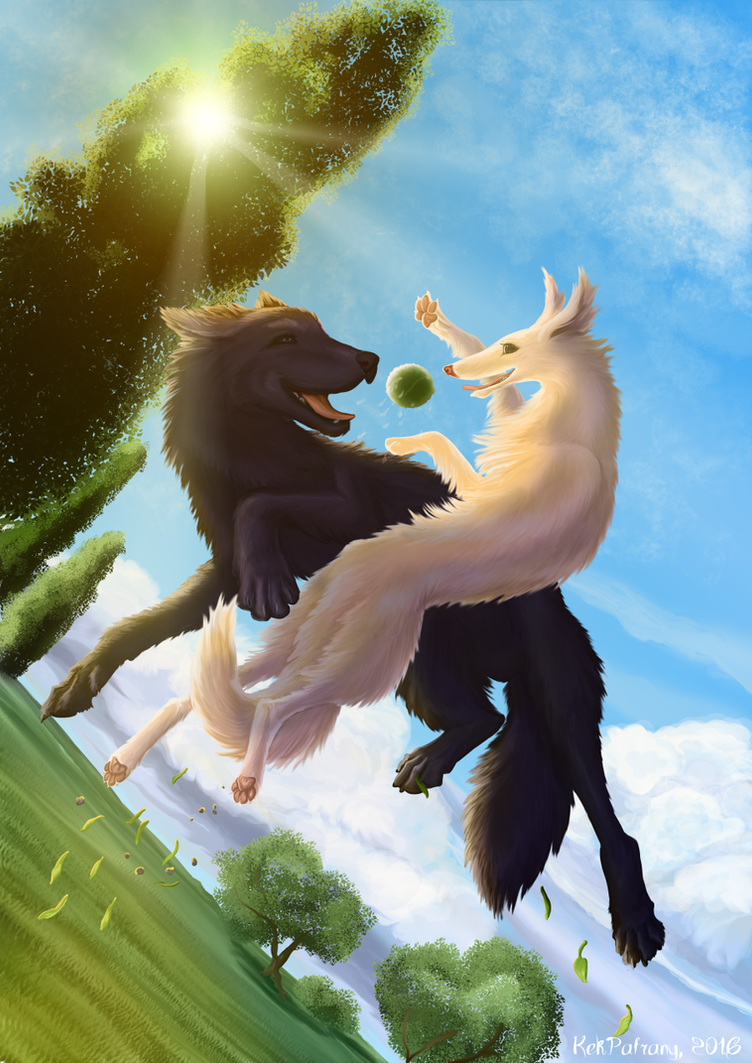 Fly like the wind! by KekPafrany