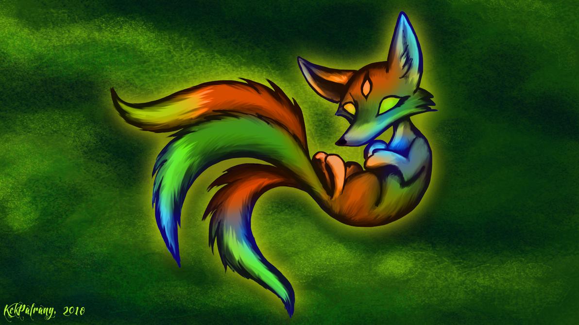 Sleepy Vixen Spirit by KekPafrany