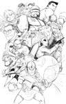 NES collage