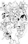 Gameboy collage!