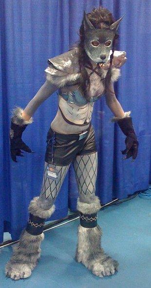 Worgen costume by RowanRayne