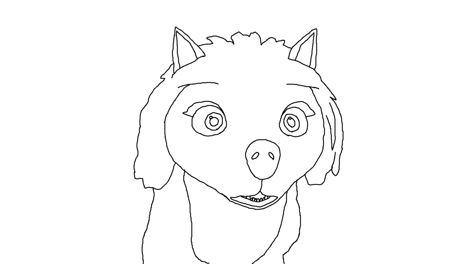Alpha omega movie coloring pages