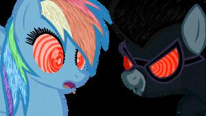 Hypnotized Rainbow Dash by jhilton0907