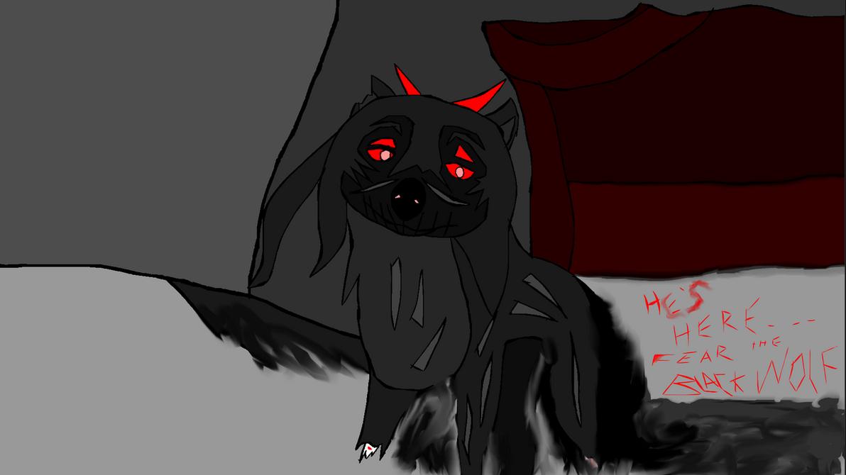 Black Wolf by jhilton0907