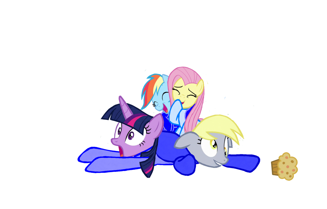 Get off me Derpy! by jhilton0907