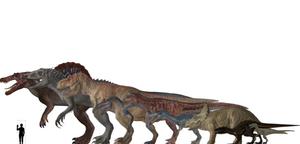 Jurassic World Evolution Dinosaur Height Chart