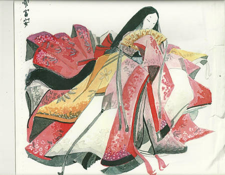 My first Heian Lady