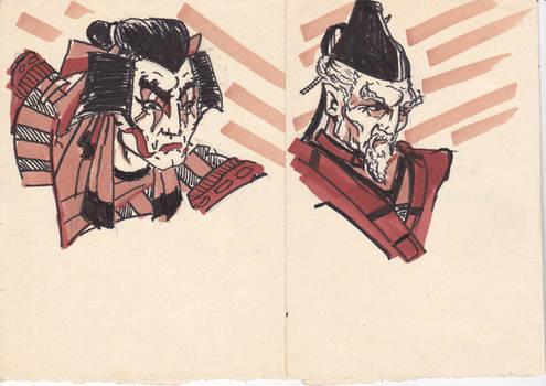 Ancient Japan characters
