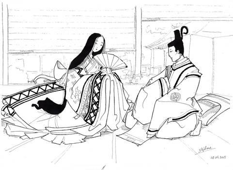 Heian Nobles by Samael1103