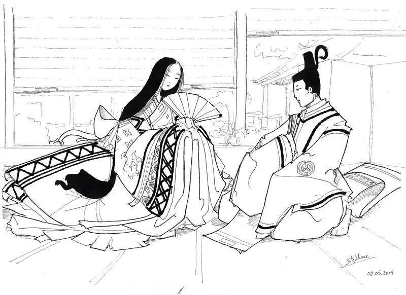 Heian Nobles by Samael1103 by Samael1103