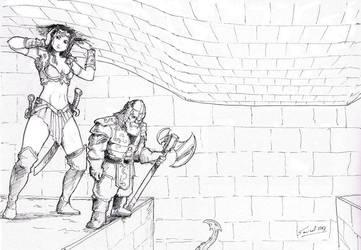 Grimtooth trap by Samael1103