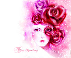 Rosa Symphony coverpage by ScartletV
