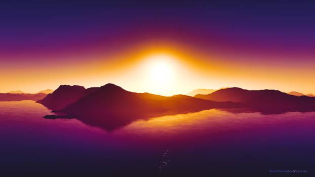 Summer Sunset 4k