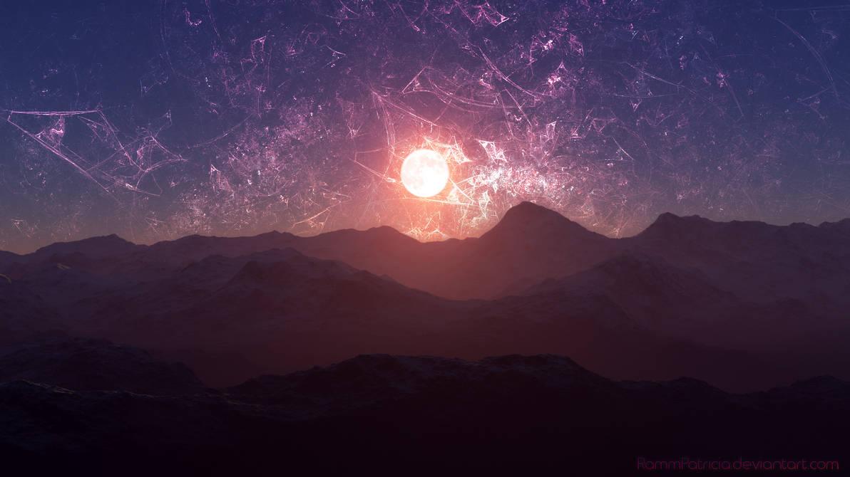Fractal Sunrise Wallpaper
