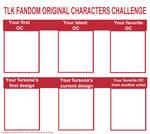 TLK Fandom OC challenge
