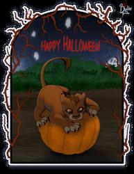 [YCH] Sikudhanii - Halloween