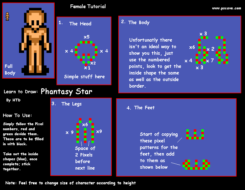Learn to make sprites