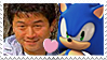 Junichi Sonic Stamp by darkhyliangirl
